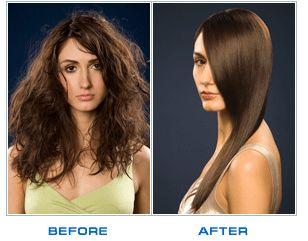 Біовипрямлення волосся