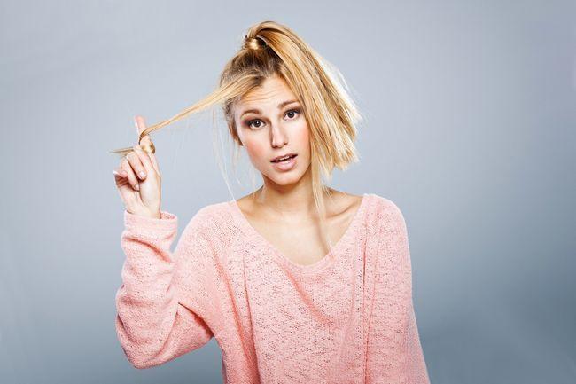 Велика проблема тонкого волосся - як зробити їх товщі?