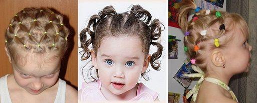 Дитячі короткі зачіски