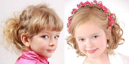 Дитячі зачіски на коротке волосся фото