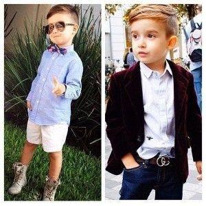 модні стрижки для хлопчиків