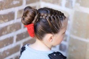 зачіска пучок