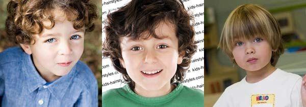 зачіски і стрижки для хлопчиків