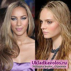Довгі зачіски 2012