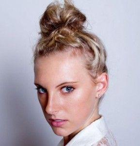 Як зробити гарний пучок із волосся