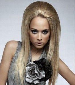 Як зробити начісування на довгому волоссі