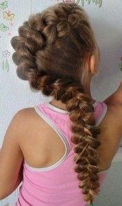 дитячі зачіски з кісок