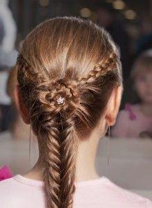 зачіски на основі риб`ячого хвоста