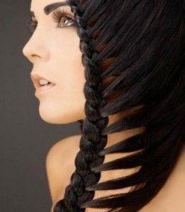 Як заплести волосся красиво