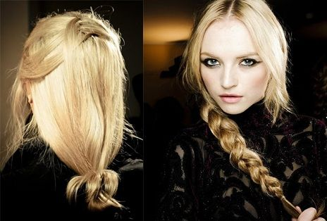 модні зачіски осінь 2011 2012