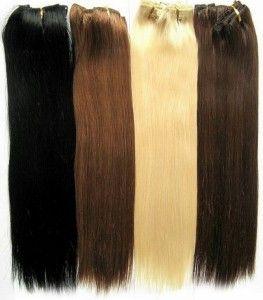 Накладне волосся на шпильках