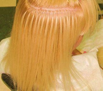 Нращіваніе волосся на кільцях