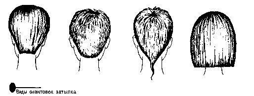 Окантовка волосся