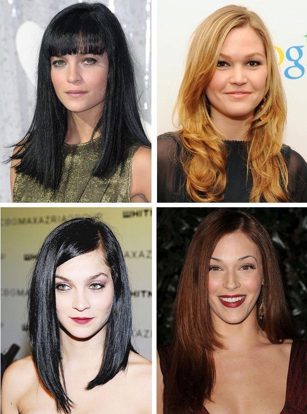 класні стрижки на середні волосся