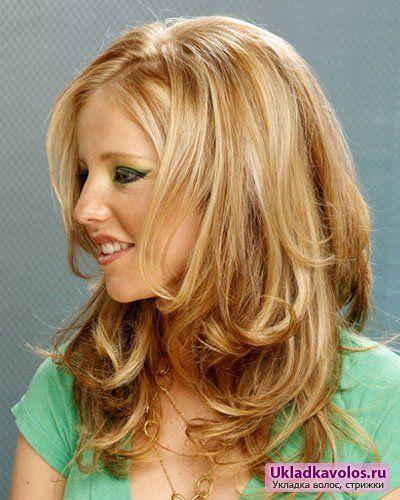Підліткові стрижки для довгого волосся