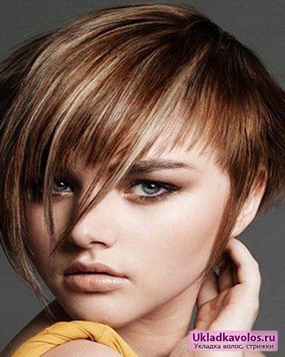 Підліткові стрижки для короткого волосся