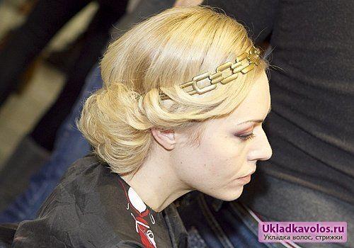 Зачіски з пов`язкою для волосся