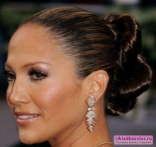 Зачіски знаменитостей: дженніфер лопес