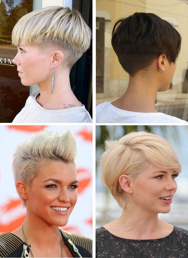стильні стрижки на коротке волосся