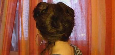 Романтична для коротких і середніх волосся
