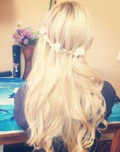 Секрети створення водоспаду з волосся