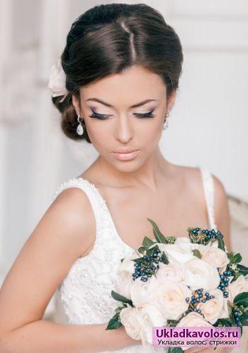 Весільні зачіски 2014 для модних наречених